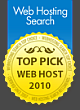 Top Pick Web Host 2010